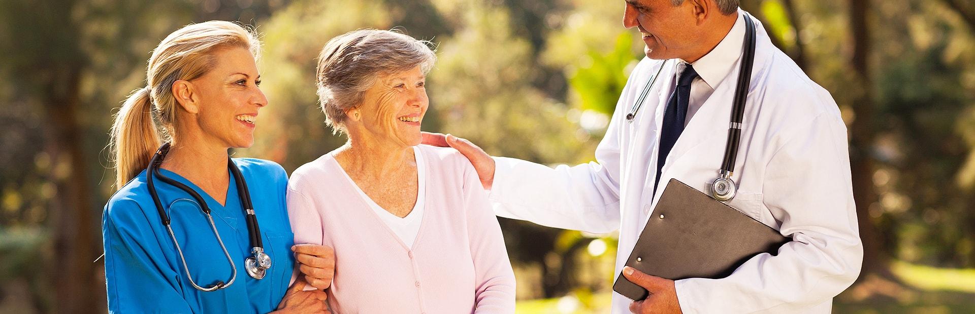 live in senior care